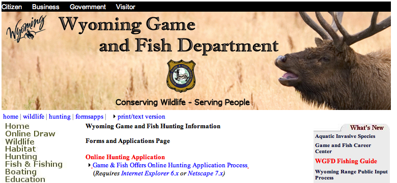 Has your identity been poached eastmans 39 official blog for Wyo game and fish