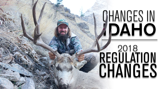 2018 Idaho Regulation Changes