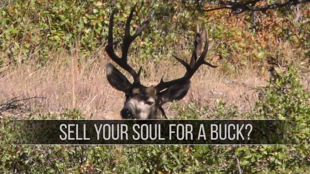 Sell Your Soul For A Buck??? - Eastmans' Official Blog