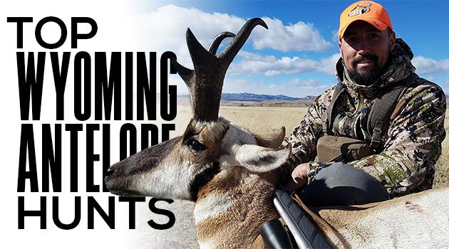 Guy's Top Wyoming Antelope Hunts: 2018 Edition - Eastmans