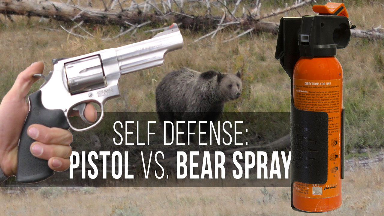 Bear Protection With Frontiersman Bear Spray: Pistol VS. Bear Spray??? - Eastmans' Official Blog